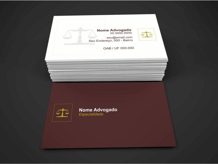 Cartão advocacia
