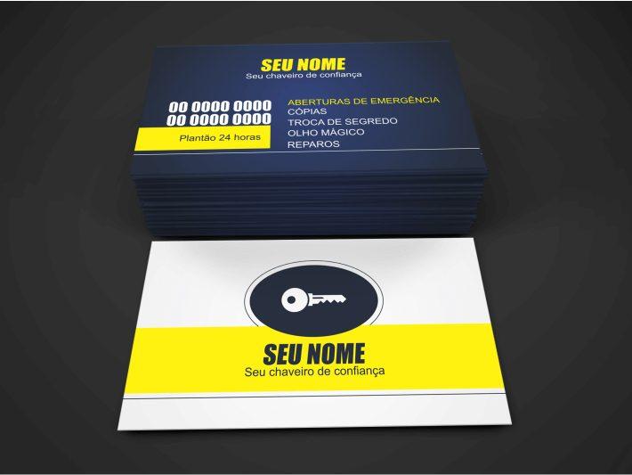 Distribua esse cartão de visita de chaveiro em comércios próximos ao seu e para clientes. Esse cartão de visita para chaveiro para ser um ótimo agente divulgador dos seus serviços! Imprima em uma boa gráfica.