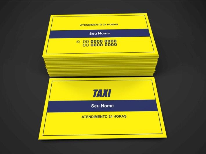 Taxista, pegue esse cartão de táxi, coloque suas informações, mande imprimir e seja gentil com seus passeiros, seja educado, abra a porta etc. É isso que seus passageiros querem. Com esse cartão táxi suas corridas podem aumentar muito, e é isso que eu esperamos.