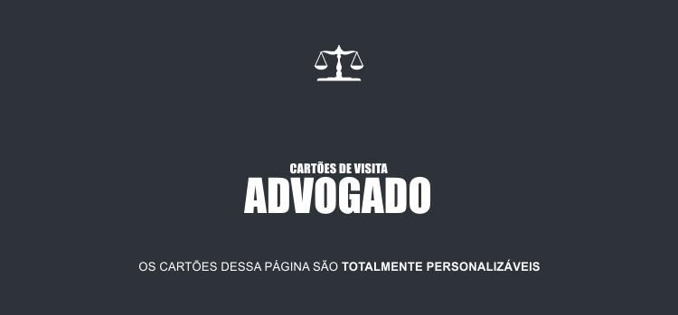 Oi, você advogado(a). Aqui nessa página você vai encontrar 7 modelos de cartões bonitos e profissionais para advogado.
