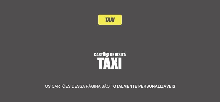 4 super modelos de cartões de visita de taxista para você divulgar seu táxi e seus ótimos serviços.