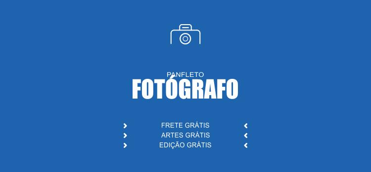 Use um dos modelos de panfletos de fotógrafos para divulgar seus serviços de fotografia: casamentos, books etc... São editáveis e profissionais, além de bonitos, claro!