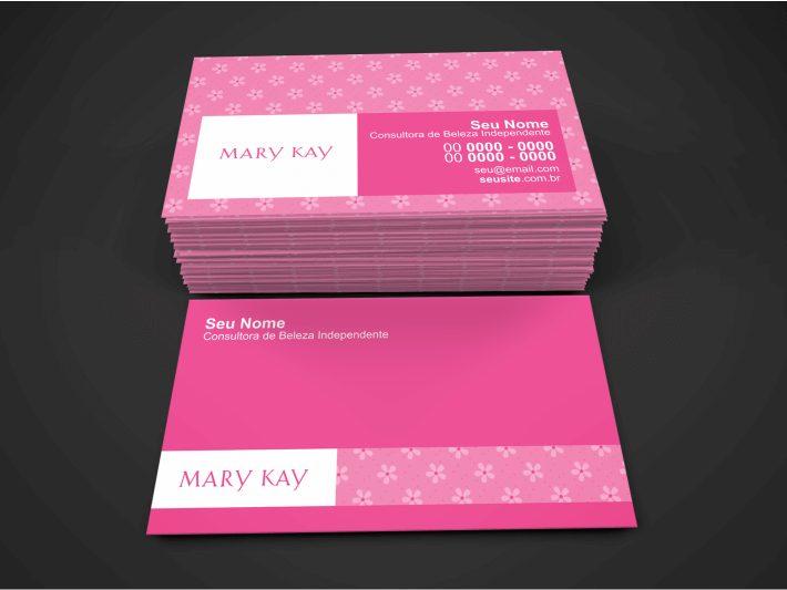 Com tantas consultoras de beleza independetes da Mary Kay, você precisa se divulgar para sair na frente. E você pode fazer essa divulgação usando uma ótima ferramenta impressa: esse cartão de visita Mary Kay. Que foi feito por um designer gráfico profissional e é lindo!