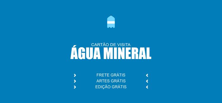 As pessoas precisam de água e você precisa divulgar que vende água, então, faça isso usando um desses modelos de cartões de visita para disk água mineral.