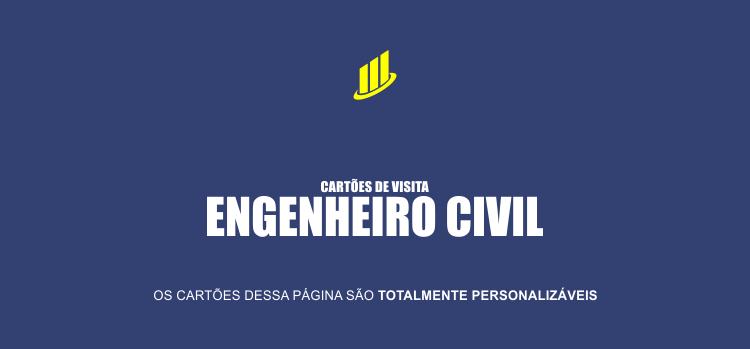 3 modelos de cartões de visita de engenheiro civil para você divulgar seus serviços em lojas de materiais para construção, pedreiros e mestres de obras.