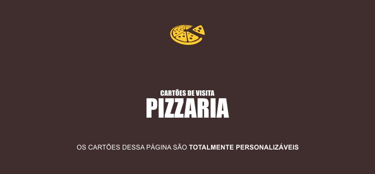 Use um dos 2 modelos de cartões de pizzaria dessa página.
