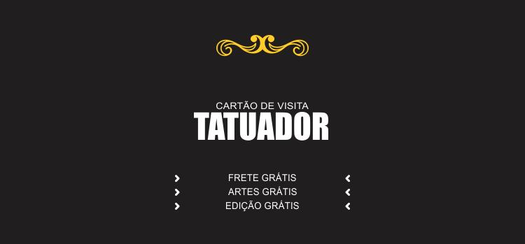 A divulgação do seu estúdio de tatuagem merece respeito e profissionalismo. Use esses cartões de tatuador para fazer essa divulgação.