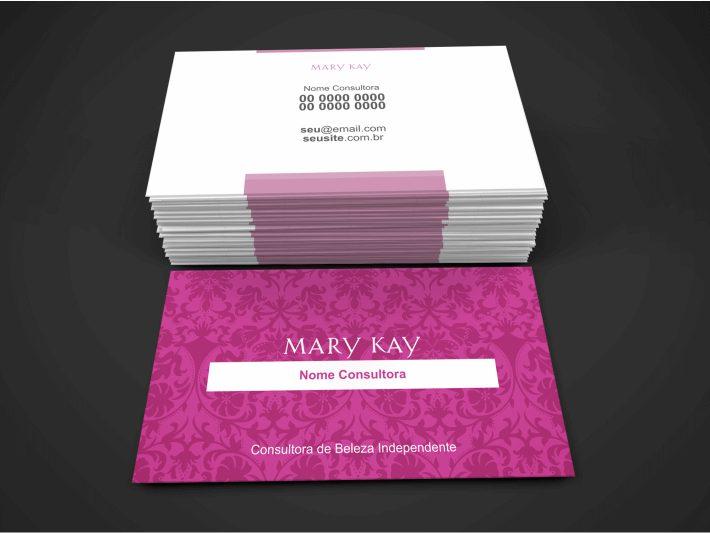 Para editar a arte desse cartão da Mary Kay não é nada difícil! Basta usar o Corel Draw e alterar seu nome, telefones de contato e inserir textos e objetivos que você ache necessário. Não imprima esse cartão de visita da Mary Kay em qualquer gráfica, imprima em uma gráfica boa para manter a qualidade da arte, que foi criada por um design gráfico profissional.