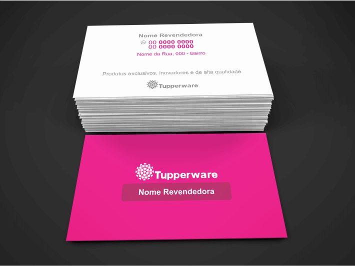 Cartão de visita Tupperware