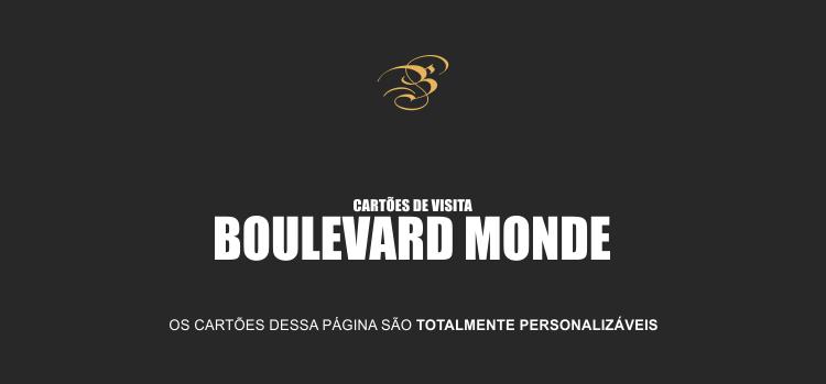 Com os nossos cartões de visita da Boulevard Monde as suas vendas vão aumentar consideravelmente, pode acreditar!