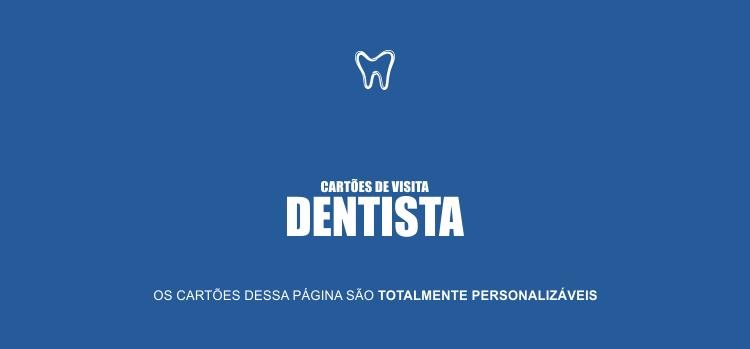 Use um dos 2 modelos de cartões de visita de dentista para divulgar sua clínica odontológica. Os cartões são profissionais e editáveis.
