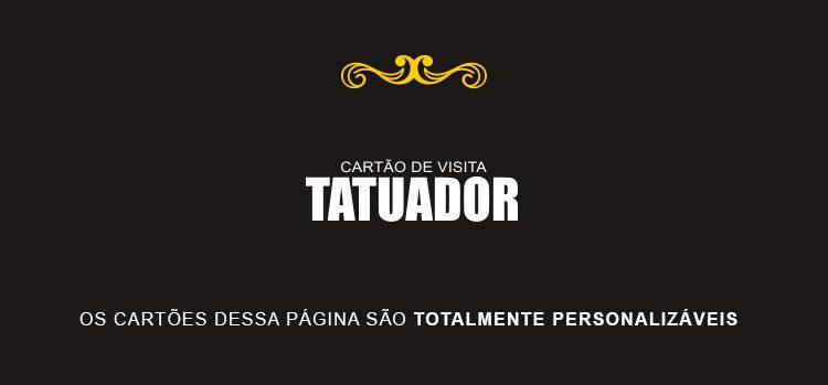 Cartão de Visita Tatuador