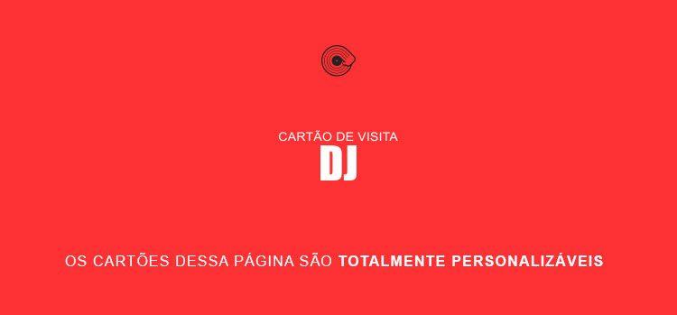 Cartão de Visita DJ