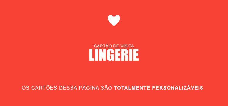 Cartão de Visita Lingerie