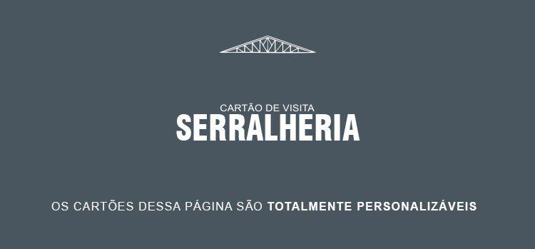 Cartão de Visita Serralheria