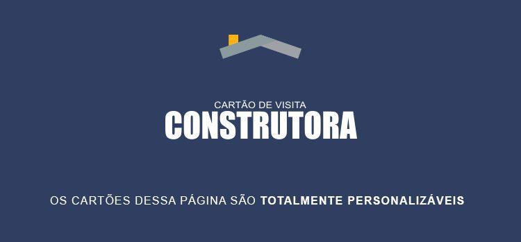 Cartão de Visita Construtora