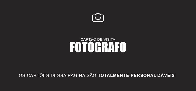 cartão de visita fotógrafo