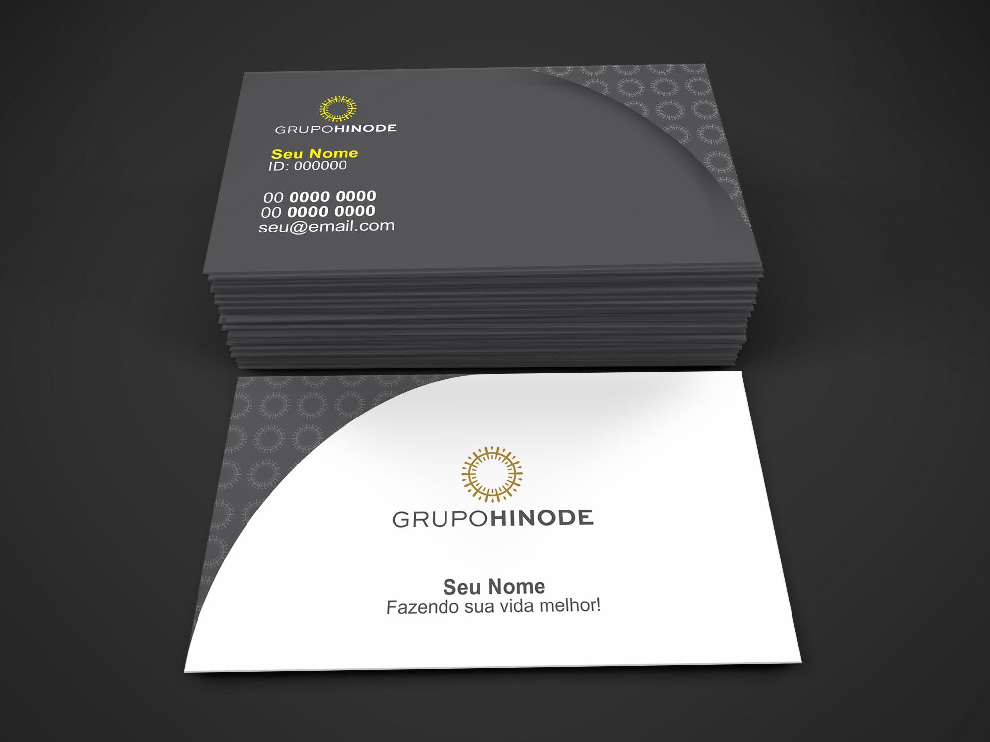 O cartão de visita Hinode é uma super ferramenta que vai auxiliar na divulgação do seu trabalho como consultor (a) da marca Hinode. Esse cartão é vetor, ou seja, é editável. Basta usar o software de edição vetorial Corel Draw, depois é só mandar para a gráfica imprimir.