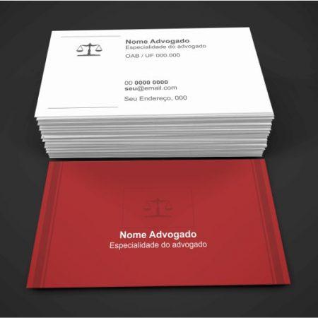Cartão de Visita Advogado - Modelo 03