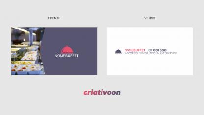 cartao de visita buffet - Modelo 01