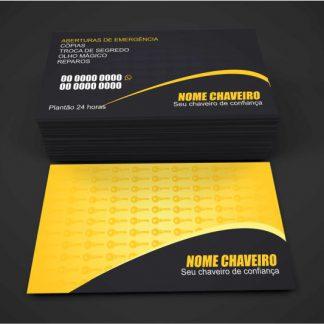 Cartão de Visita Chaveiro - Modelo 02