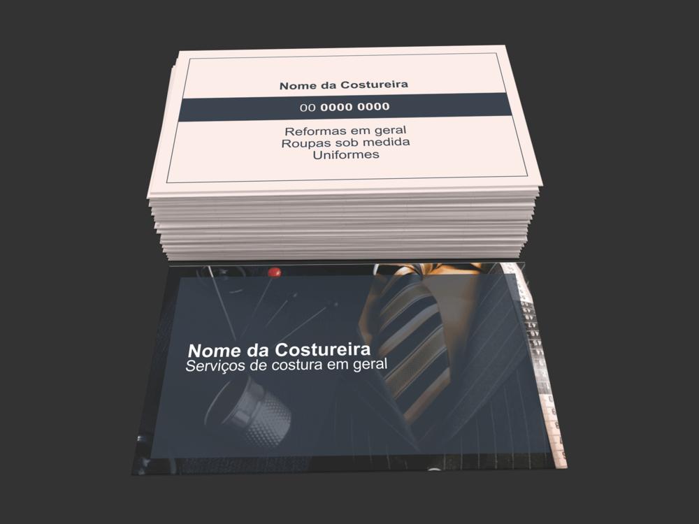 Cartão de Visita Costureira - Modelo 01