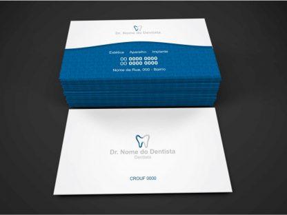 Cartão de Visita Dentista - Modelo 01