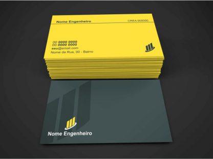 Cartão de Visita Engenheiro Civil - Modelo 03