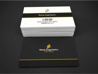 Cartão de Visita Engenheiro Civil - Modelo 02