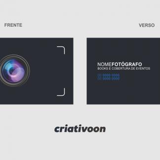 Cartão de Visita Fotógrafo - Modelo 03