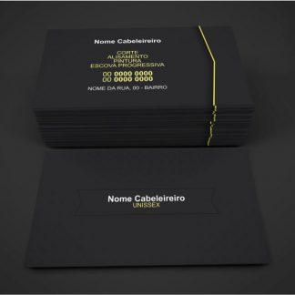 cartão de visita cabeleireiro - modelo 02