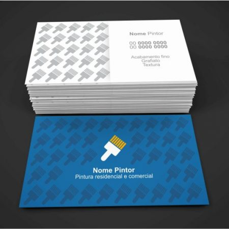 cartão de visita pintor - modelo 03