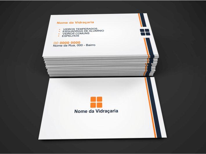 cartão de visita vidraçaria - modelo 02