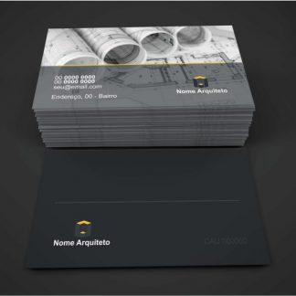 cartão de visita arquiteto - modelo 01