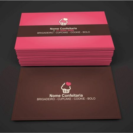 cartão de visita confeitaria - modelo 01