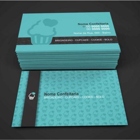 cartão de visita confeitaria - modelo 02