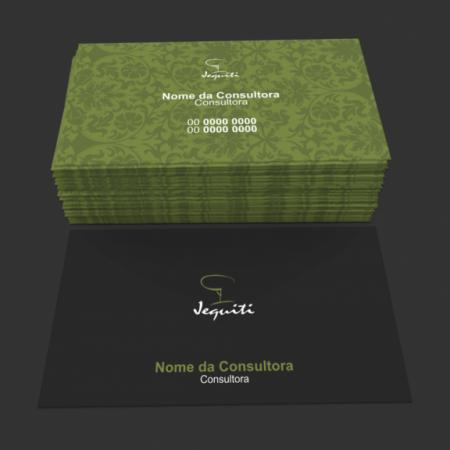 cartão de visita jequiti - modelo 01