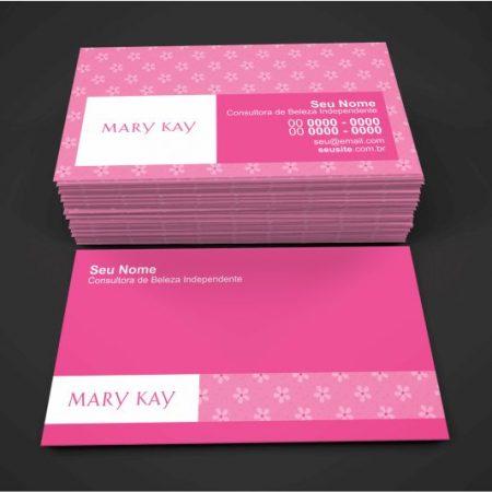 cartão de visita mary kay - modelo 01