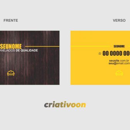cartão de visita móveis planejados - modelo 01