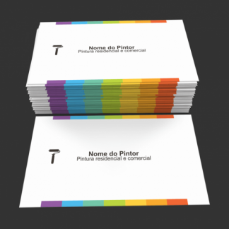 cartão de visita pintor - modelo 02