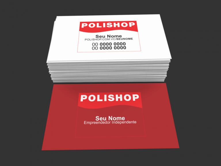cartão de visita polishop - modelo 01