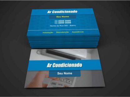 cartão de visita ar condicionado - modelo 01