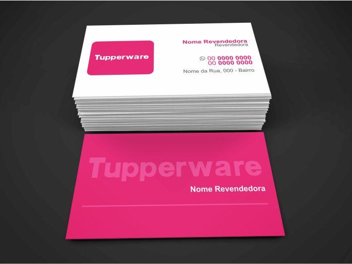 Cartão de Visita Tupperware - modelo 01