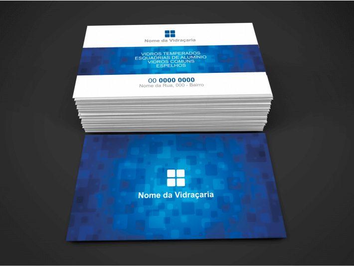 cartão de visita vidraçaria - modelo 01