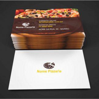 cartão de visita pizzaria - modelo 02