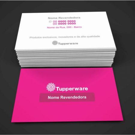 Cartão de Visita Tupperware - modelo 02