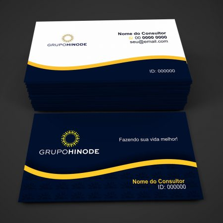Cartão de visita grupo Hinode - modelo 02
