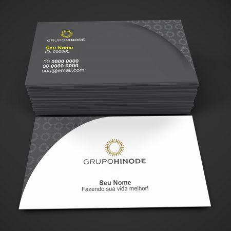 Cartão de de visita grupo Hinode - modelo 03