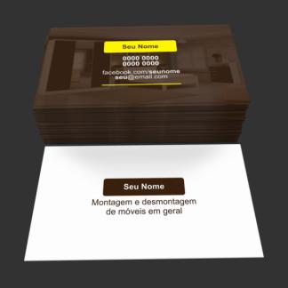 cartão de visita montador de moveis - modelo 01