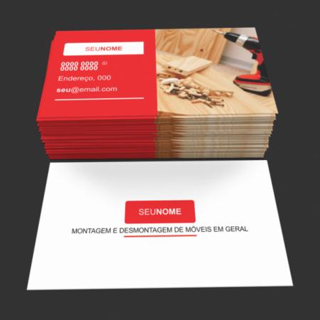 cartão de visita montador de moveis - modelo 02